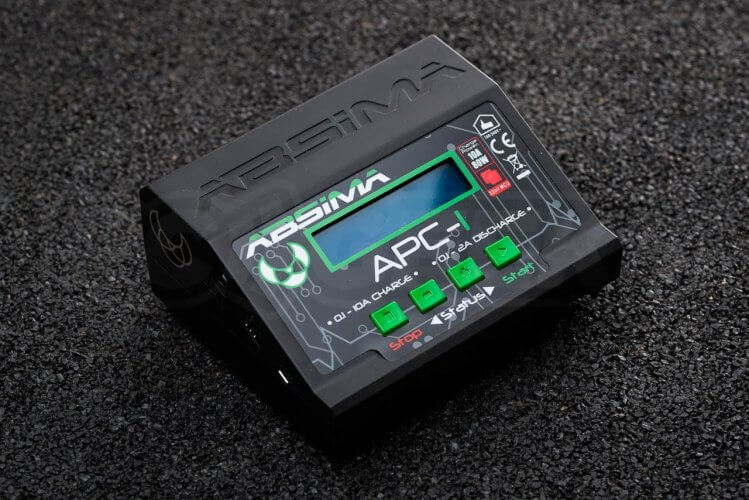 battery charging absima smart charger