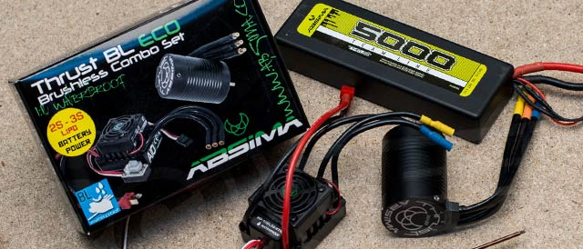 Brushless upgrade kit