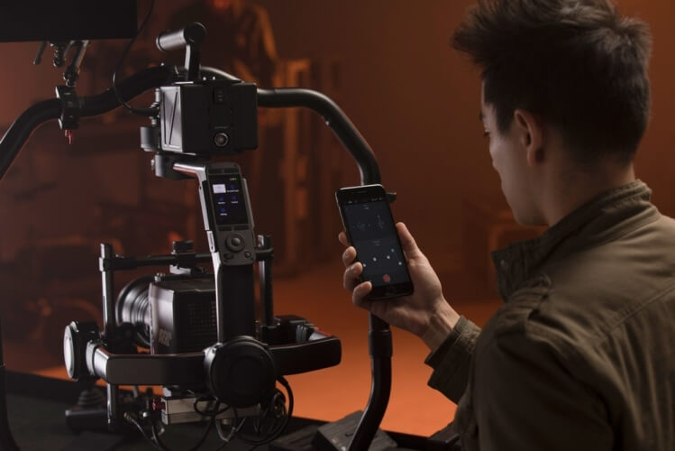 DJI Ronin 2 touchscreen