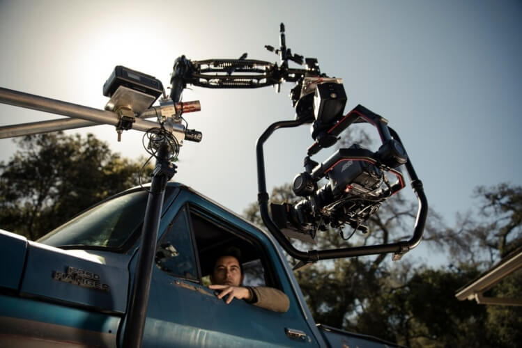 DJI Ronin 2 car mounted