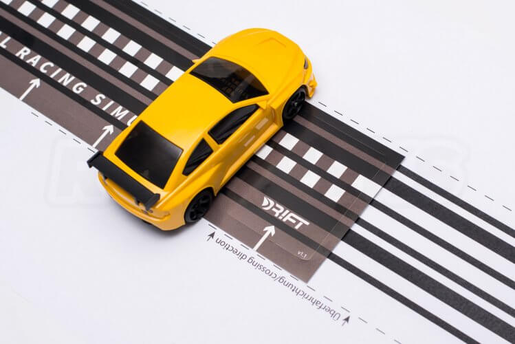 dr!ft scale drift gymkhana review track elements home made print out