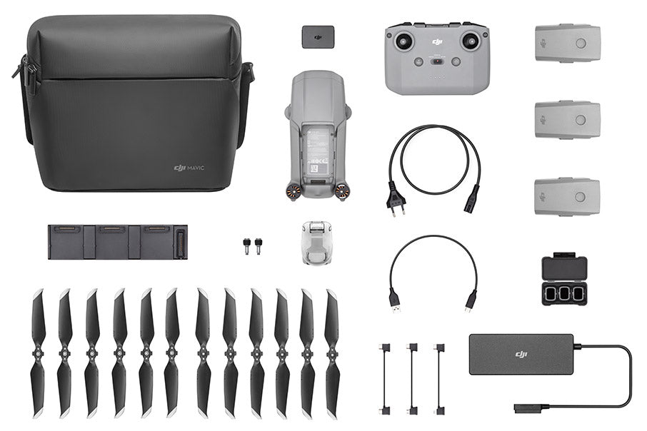 Mavic Air 2 fly more combo contents