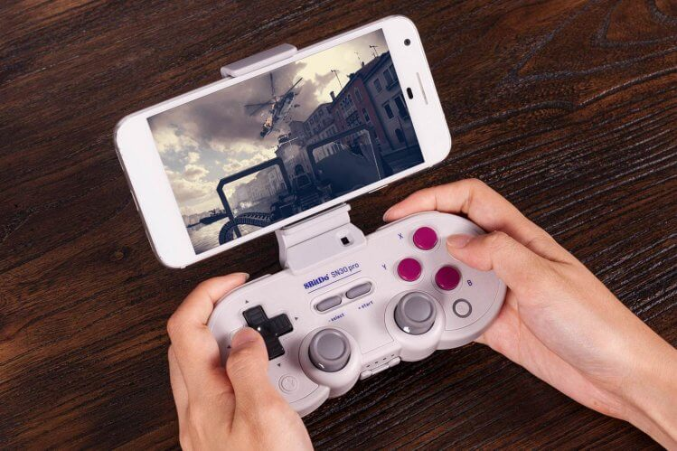 8bitdo controller phone holder
