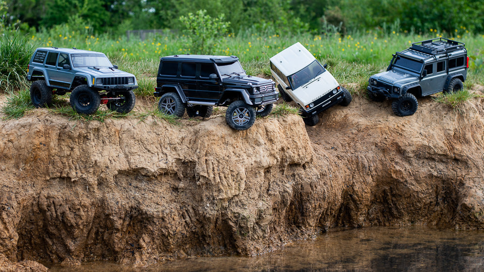 RC Crawlers in action