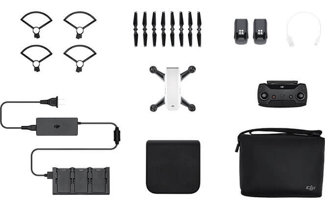 DJI Spark Release Fly More Combo