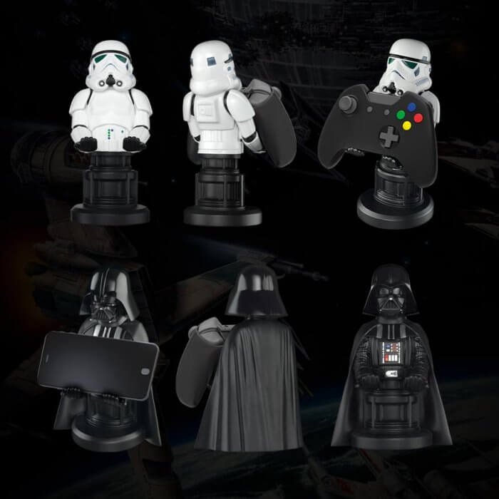 star wars cable guys holders