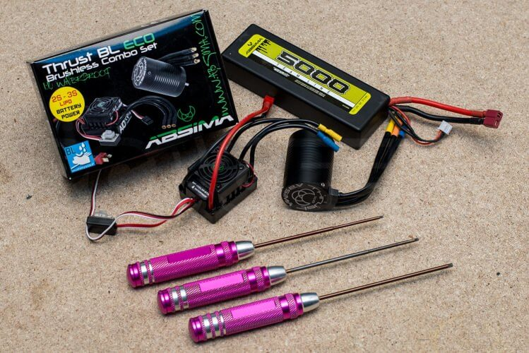 trx4 defender brushless conversion required equipment and tools