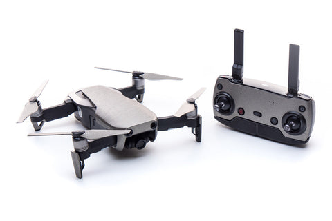 Modifli Drone Skin for DJI Mavic Air - Brushed Titanium