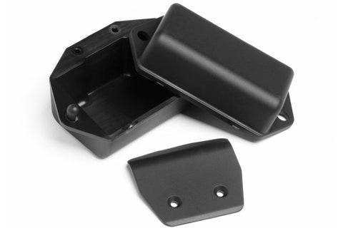 HPI Racing Firestorm E-Firestorm Battery Box Skid Plate Set