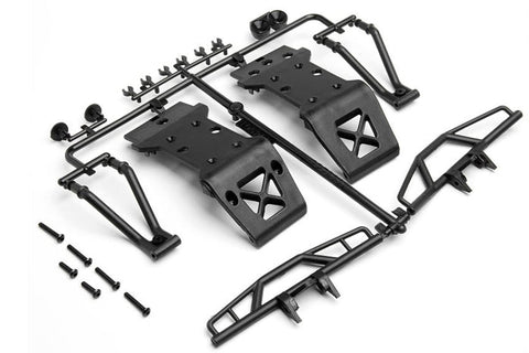 HPI Racing Savage XS Bumper and Skid Plate Set