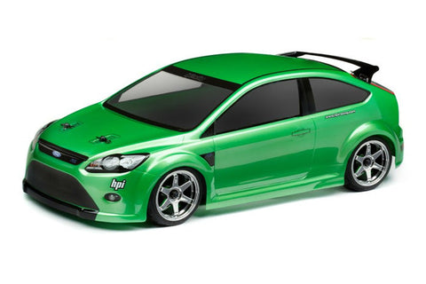HPI Racing EU Ford Focus RS Body Shell 200mm
