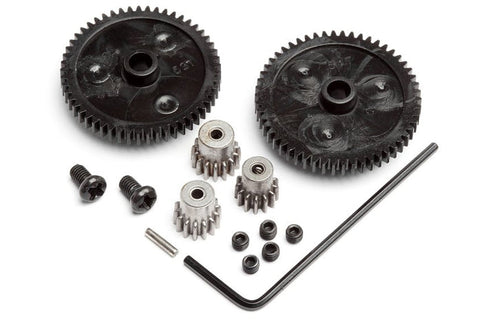 HPI Racing Recon Spur Gear (2pc) and Pinion Gear (3pc) Set