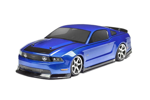 HPI Racing 2011 Ford Mustang Clear Body Shell 200mm
