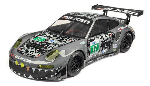 HPI RS4 Sport 3 Flux With Falken Porsche 911 GT3 R Body