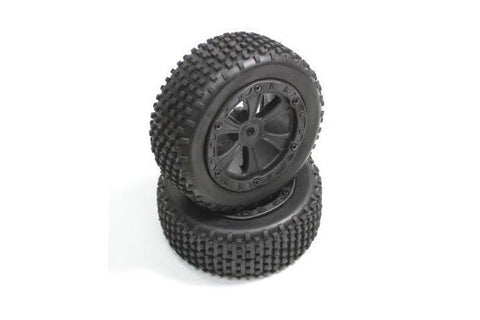 Absima Front Wheel and Tyre Set Buggy
