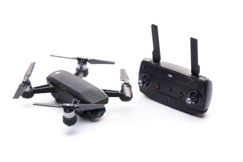 Modifli Drone Skin for DJI Spark Propwrap™ Combo - Carbon Black
