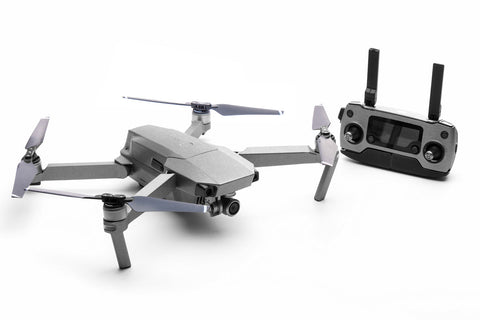 Modifli Drone Skin for DJI Mavic Pro - Brushed Titanium