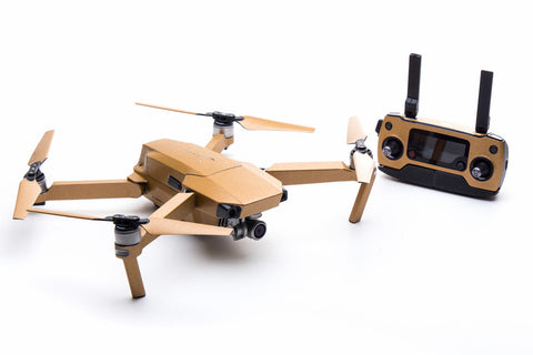 Modifli Drone Skin for DJI Mavic Pro Propwrap™ Combo - Brushed Gold