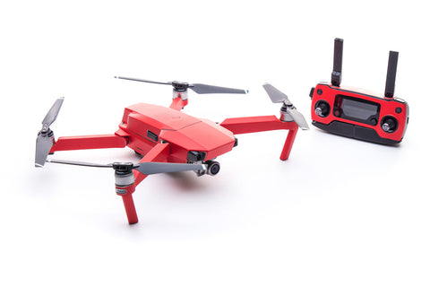 Modifli Drone Skin for DJI Mavic Pro - Molten Red