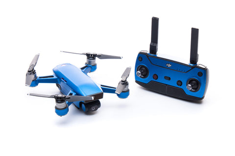 Modifli Drone Skin for DJI Spark - Riviera Blue
