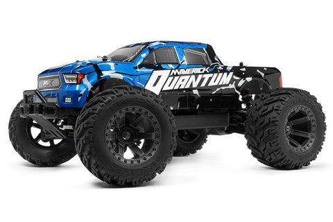 Maverick Quantum MT 1/10 Monster Truck Blue