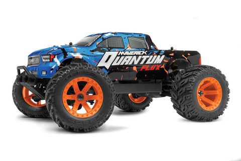 Maverick Quantum MT Flux 1/10 Monster Truck Blue