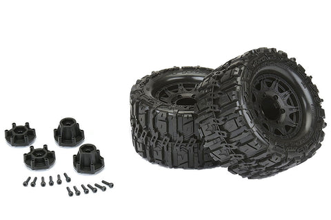 "Pro-Line Trencher HP 2.8"" Tyres w/Raid 6X30 Wheels"