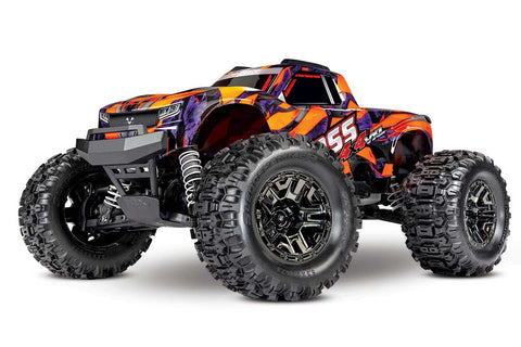 Traxxas Hoss 4x4 1/10 Monster Truck RTR VXL 3S - Orange