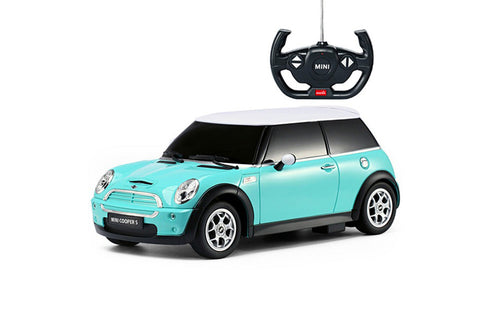 Rastar 1/14 Mini Cooper S Blue