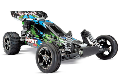 Traxxas Bandit VXL Brushless Buggy Green