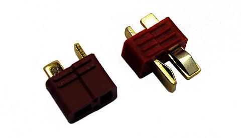 Overlander T Plug Deans Type Connector 40A 1 pair