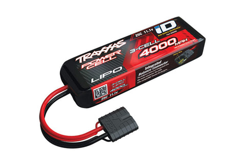 Traxxas 4000mah 11.1v 3-Cell 25C LiPo ID Battery