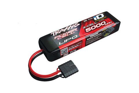 Traxxas Power Cell 11.1V 3S 5000mah LiPo Battery - TRX
