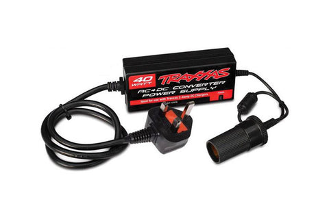Traxxas AC To DC Power Supply 40W UK