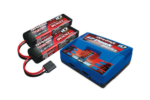Traxxas EZ Peak Dual iD Charger & LiPo Battery Set
