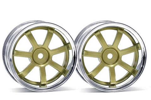 HPI Racing 1/10 Rays Gram Lights 57S Wheel Gold Chrome 26mm +3mm