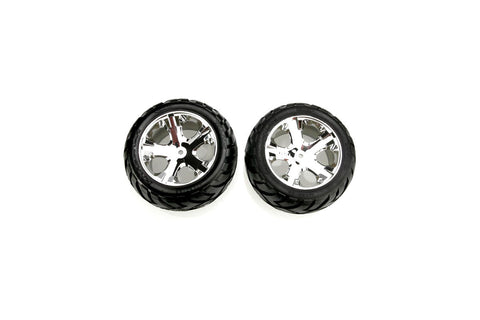 Traxxas 2.8 Wheel & Tyre Set Assembled