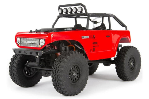 Axial SCX24 1/24 Deadbolt Rock Crawler RTR Red
