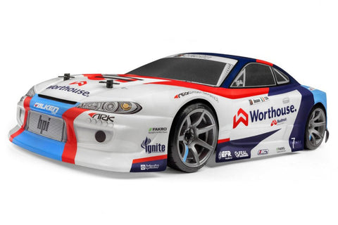 HPI RS4 Sport 3 Drift Team Worthhouse Nissan S15