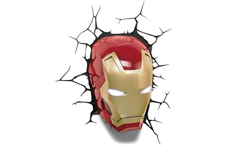 3D Light FX Iron Man Wall Light