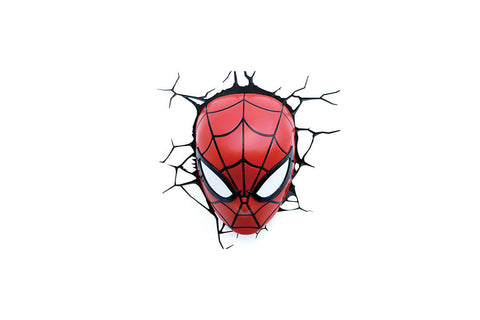 3D Light FX Spiderman Wall Light