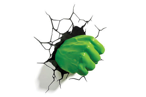 3D Light FX Hulk Fist Wall Light