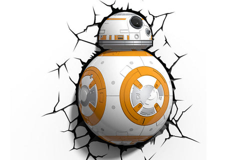 3D Light FX BB8 Droid Wall Light
