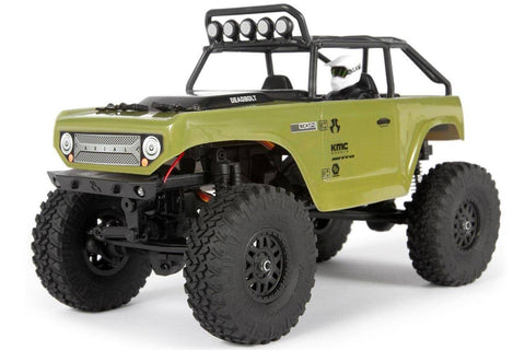 Axial SCX24 1/24 Deadbolt Rock Crawler RTR Green