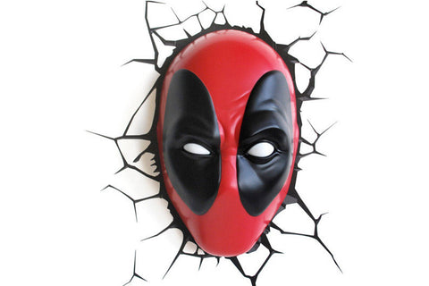3D Light FX Deadpool Wall Light