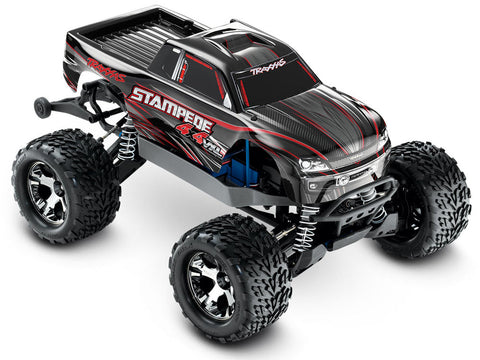 Traxxas Stampede 4X4 VXL Monster truck RTR - Black