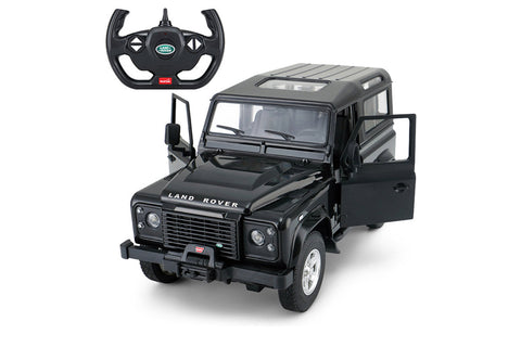 Rastar 1/14 Land Rover Defender Black