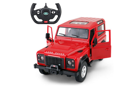 Rastar 1/14 Land Rover Defender Red