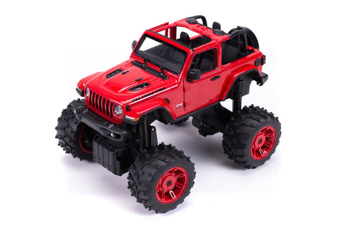 Rastar 1/14 Jeep Wrangler JL Big Foot Design Red