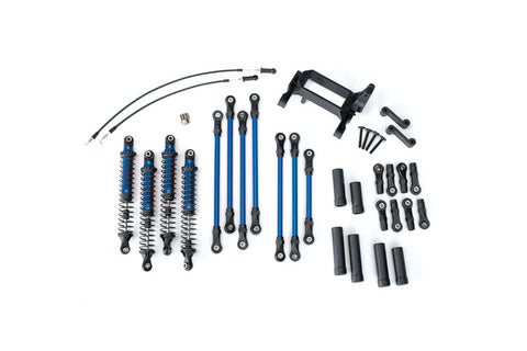 Traxxas TRX-4 Long Arm Lift Kit Blue